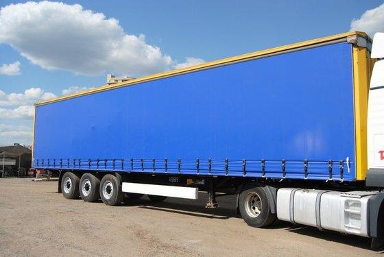 2007 KRONE SDP27 tilt semi-trailer