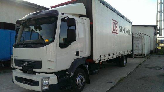 2007 VOLVO FL6 tilt truck