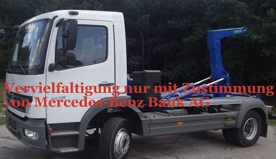 2006 MERCEDES-BENZ Atego 1218 hook