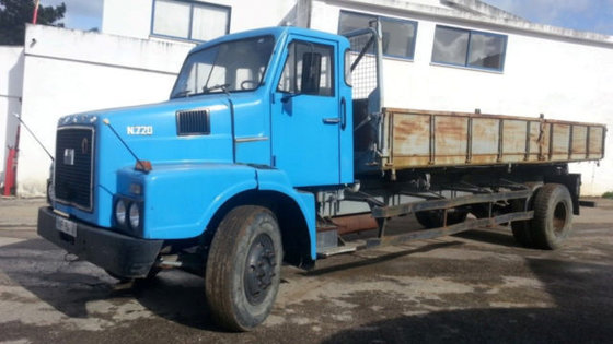 1974 VOLVO N7 TURBO KIPPER