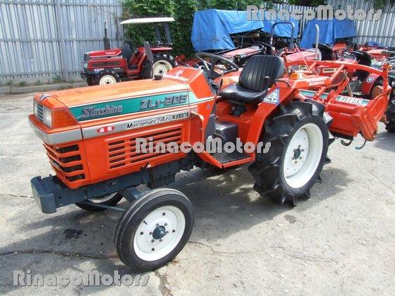 KUBOTA ZL-205DT mini tractor in