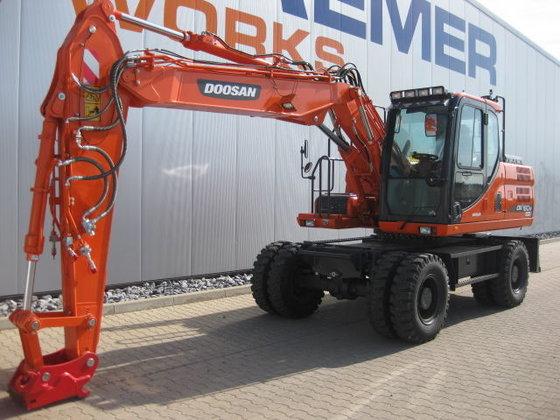 2014 DOOSAN DX 160 W-3