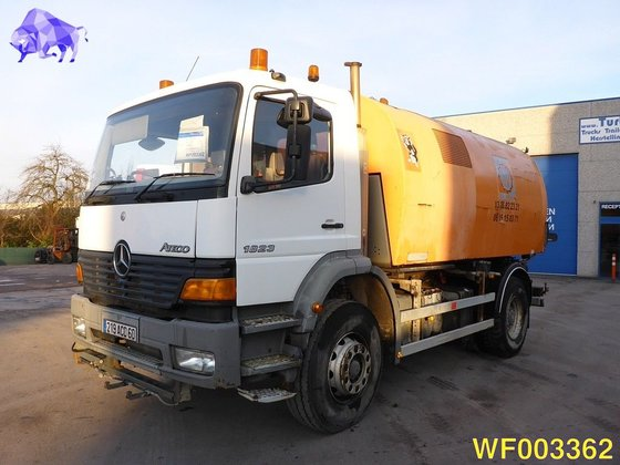 2001 MERCEDES-BENZ Atego 1823 road