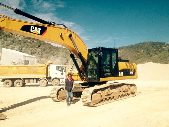 2013 CATERPILLAR 329 DL tracked