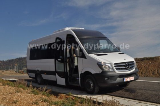 MERCEDES-BENZ Sprinter 519, DYPARRO 19+1+1
