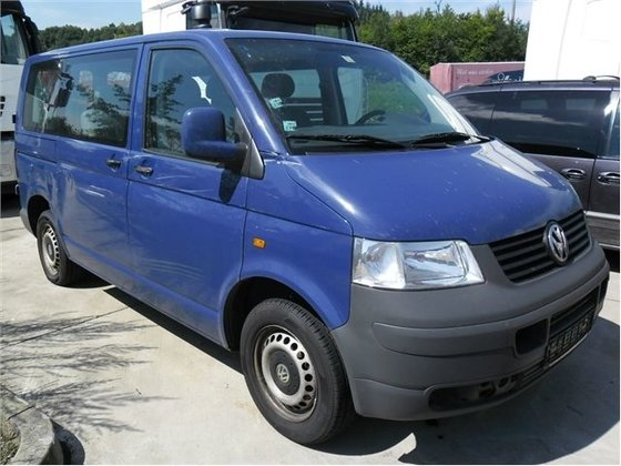 2006 Damaged VOLKSWAGEN T-5 1,9Tdi