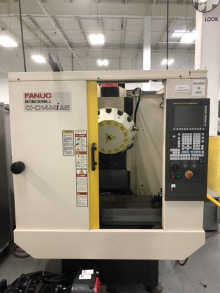 2012 2012 Fanuc Robodrill D14MiA5 with DDR 260IB Trunnion in Phoenix