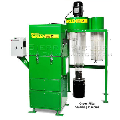 1,400 CFM DIVERSI-TECH Green Filter