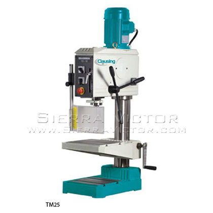 CLAUSING/IBARMIA SERIES T 18mm Geared-Drive