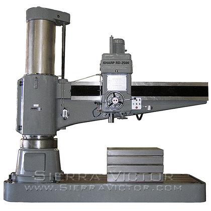 """SHARP RD-2500 98"""" Radial Drill"""