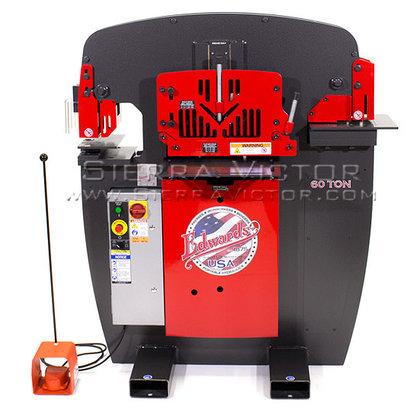60 Ton EDWARDS Hydraulic Ironworker: