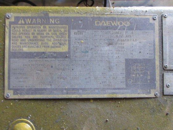 DAEWOO ELECTRIC FORKLIFT 6,000 LBS  CAP  in Huntsville, AL, USA