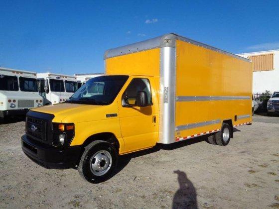 2015 Ford E-350 E350 Econoline 16 FT Box Truck in Hialeah, FL, USA