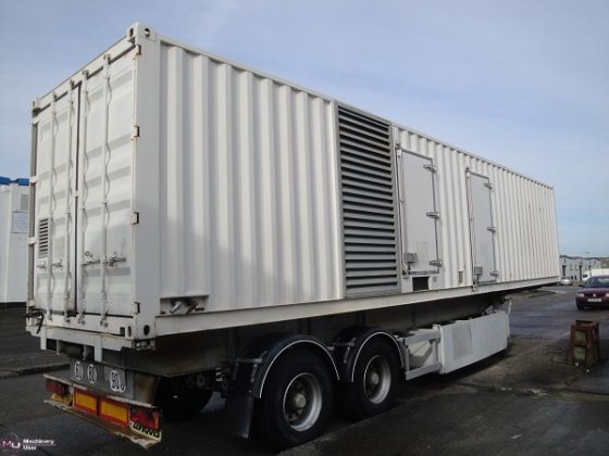Sdmo 1250 Kva Generator In Newcastle Upon Tyne  United Kingdom