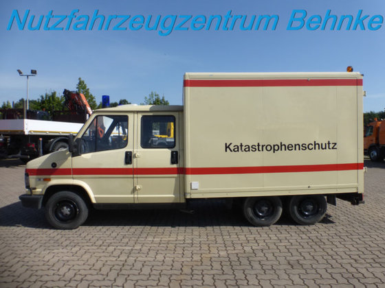 1994 fiat ducato doka 3 achser 6 sitzer in achim deutschland. Black Bedroom Furniture Sets. Home Design Ideas