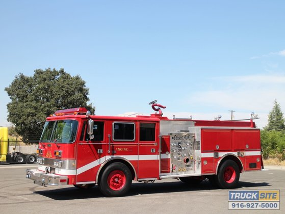 1992 Pierce Arrow 1500/500/40 Fire