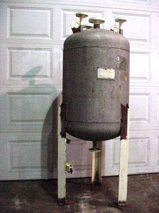 one(1) used 75 gallon Stainless
