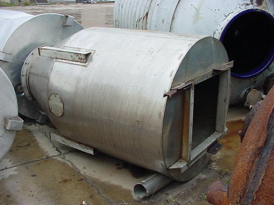 Stainless Steel Cyclone Hopper 262