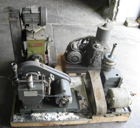 Pallet of Vacuum Pumps 1650
