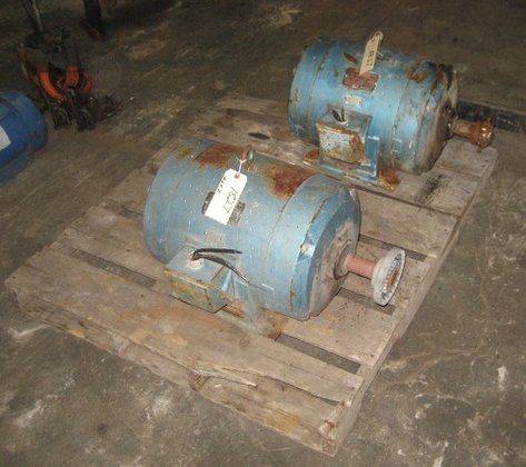 20 hp Reliance Weatherproof Motors
