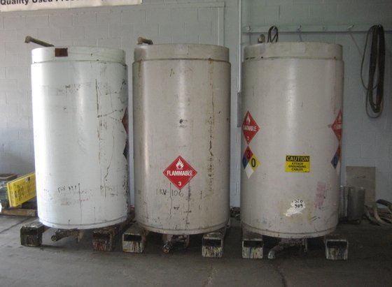 500 gallon Steel Tanks with