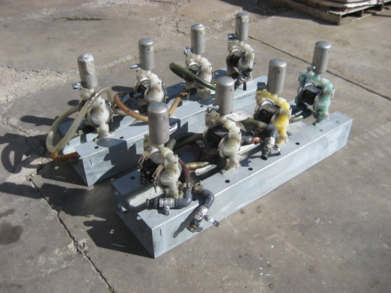 "1/2"" Airpowered Double Diaphragm Pumps"