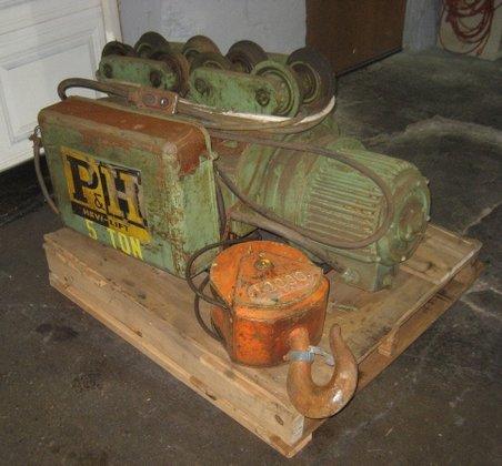 5 ton P & H