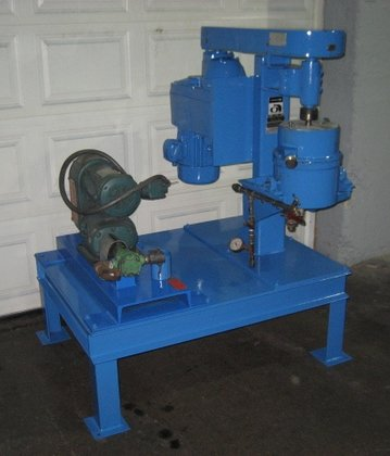 Union Process Recirculating Attritor, Size
