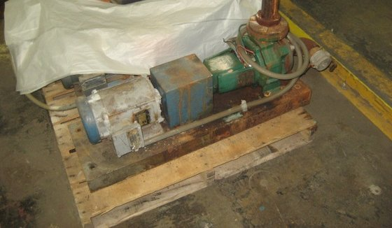 1.5 hp Allis Chalmers Pump