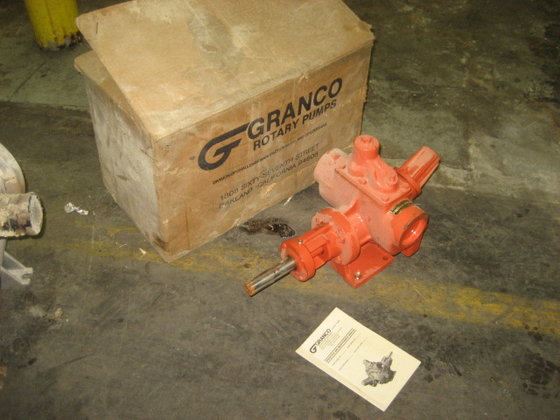 "2.5"" Granco Rotary Pump. unused."