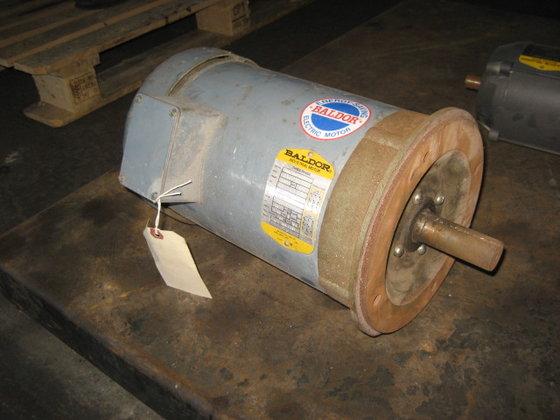 5 hp Baldor Motor in