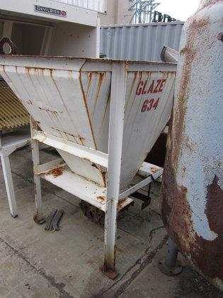 """Steel Hopper. 32"""" x 60"""""""