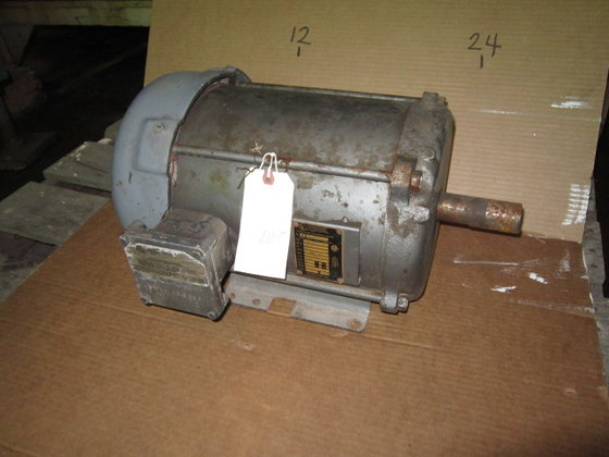 5 hp Baldor Electric Motor,