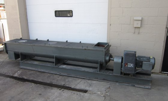 Patterson Dual Shaft Pug Mill,