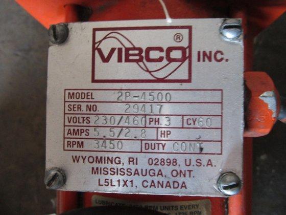 Vibco Model 2P-4500 Electric Vibrator