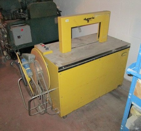Dynaric Strapping Machine, yellow in