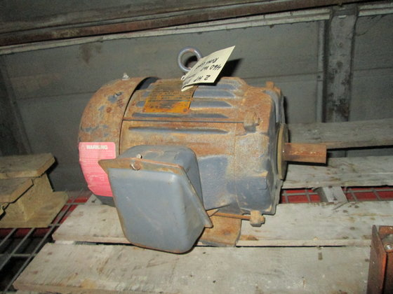 2 hp Electric Motor. 1160