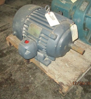 7.5 HP U.S. Electric motor,
