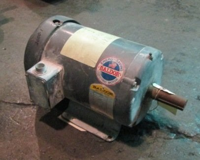 2-1 HP Baldor Electric Motor