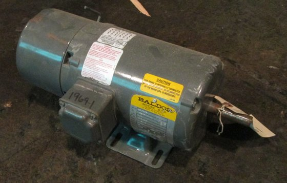 1/2 HP Baldor Electric Motor,