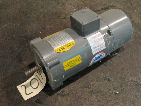 5 HP Baldor Electric Motor