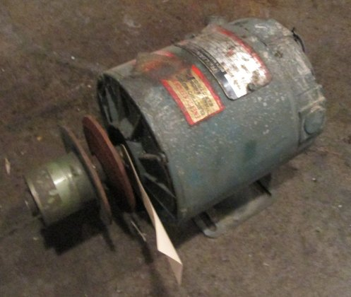 1/2 HP Reliance Electric Motor