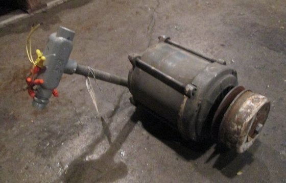 1/3 HP Reliance Electric Motor