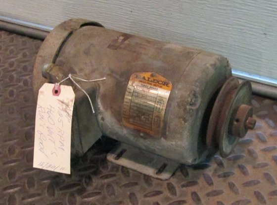 2 HP Baldor Electric Motor,