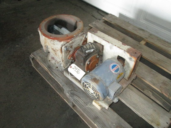 "8"" Mikropul Rotary Airlock 2936"