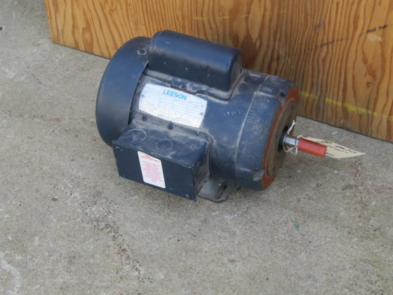 2 HP Leeson Electric Motor