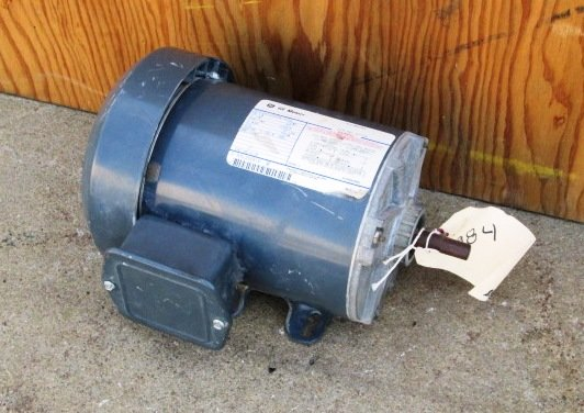 1/6 HP GE Electric Motor,