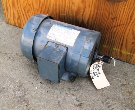 2 HP Marathon Electric Motor