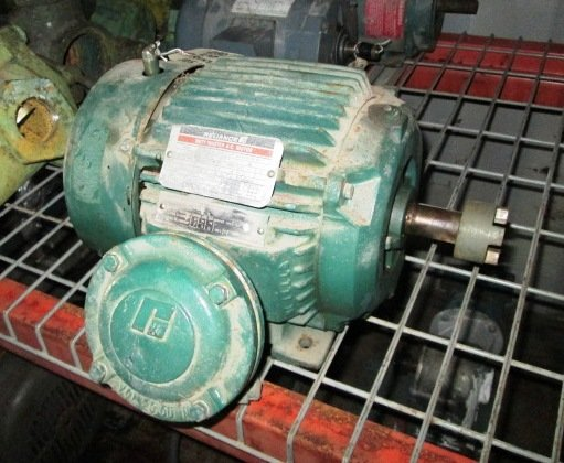 2 HP Reliance Electric Motor,