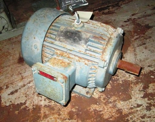 5 HP Toshiba Electric Motor